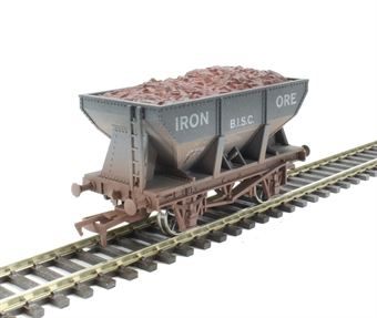 4F-033-105 24T Hopper BISC - weathered