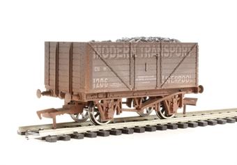 "4F-080-101 8 plank wagon ""Modern Transport"" - weathered"