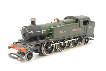 54150-PO125 Class 61xx 'Large Prairie' 2-6-2T 6110 in GWR green - Pre-owned - Sold as seen - Non-runner - Body loose - Missing cylinders - Broken linkage - Missing coupling hook - Replacement box