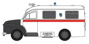 76BED008 Bedford J1 Ambulance Aberystwyth
