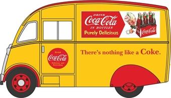 "76CM010CC Commer Q25 Van ""Coca Cola"""