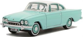 76FCC002 Ford Consul Capri Caribbean Turquoise/Ermine White