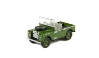 "76LAN188003 Land Rover Series I 88"" open in ""Churchill"" bronze green"
