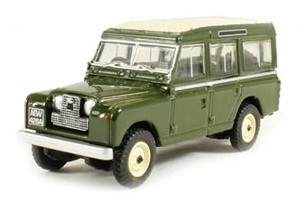 76LAN2002 Land Rover Series II Station Wagon Bronze green