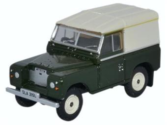 76LR3S005 Land Rover Series III SWB Hard Top Bronze Green