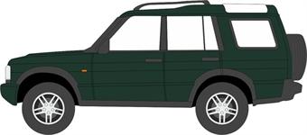 76LRD2001 Land Rover Discovery 2 Metallic Epsom Green
