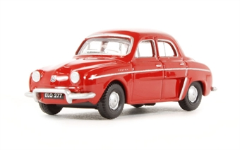 76RD004 Renault Dauphine in red