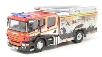 """76SFE011 Scania Pump Ladder fire engine - """"Humberside Fire and Rescue"""""""