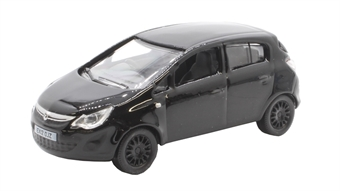 76VC004 Vauxhall Corsa black