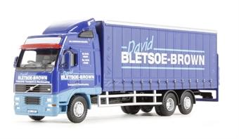 "76VOL01CL Volvo FH Curtainside lorry ""David Bletsoe Brown"""