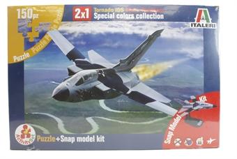852 Tornado IDS Black Panthers mini kit and jigsaw