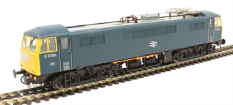 8654 Class 86/0 E3156 in BR blue with double arrow emblem