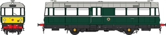 8708 Waggon und Maschinenbau Railbus E79961 in BR green with larger yellow panels
