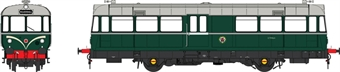 8709 Waggon und Maschinenbau Railbus E79964 in BR green with speed whiskers - weathered