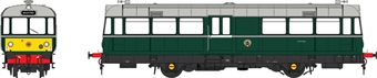 8711 Waggon und Maschinenbau Railbus E79960 in BR green with small yellow panels - weathered