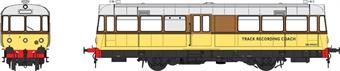 "8714 Waggon und Maschinenbau Railbus DB999507 ""Elliot"" in BR departmental brown and yellow"