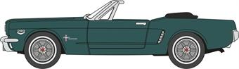 87MU65006 Ford Mustang 1965 Ivy Green