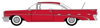 87PB59005 Pontiac Bonneville Coupe 1959 Mandalay Red