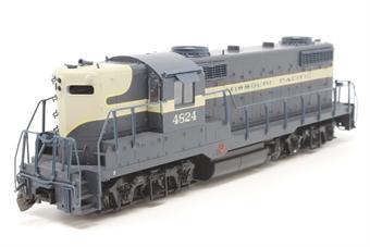 8838Proto-PO01 EMD GP18 #4824 of the Missouri Pacific railroad - Pre-owned - one cab door and sun shade loose in box - fair box