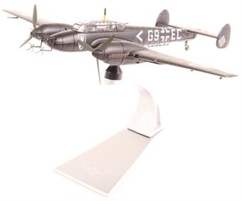 AA38508 Messerschmitt Bf110E - G9+EC, Stab II./NJG 1, Deelen, Holland, Spring 1942