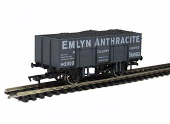 "4F-038-001 20T steel mineral wagon ""Emlyn Anthracite"" (ex-B861)"