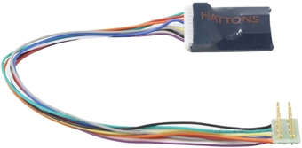 DCR-8Pin-Harness-Neo 8-pin 4-function 1.1Amp harness decoder with back EMF