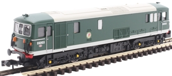 GM2210201 Class 73/0 E6003 in BR green with no yellow ends