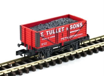 """GM2410103 7 plank open wagon """"T.Tullet & Sons, Petwork"""""""