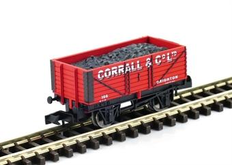 """GM2410113 7 plank open wagon """"Corrall & Company, Brighton"""""""