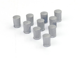GM494 Traditional dustbins - pack of 10