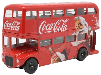 GS82331 London bus - Coca Cola Christmas with Santa Claus - Limited Edition