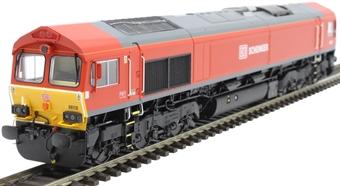 H4-66-007 Class 66 66118 in DB Schenker livery