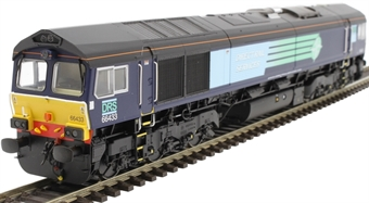 H4-66-011 Class 66 66433 in DRS compass livery
