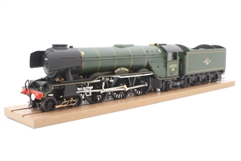 """H7-A3-007-PO08 Class A3 4-6-2 60103 """"Flying Scotsman"""" in BR green with late crest and unstreamlined corridor tender - Pre-owned - missing smoke guards - very good box"""