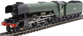 """H7-A3-007 Class A3 4-6-2 60103 """"Flying Scotsman"""" in BR green with late crest and unstreamlined corridor tender"""