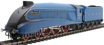 """H7-A4-003 Class A4 4-6-2 4468 """"Mallard"""" in LNER Garter blue with streamlined non-corridor tender"""