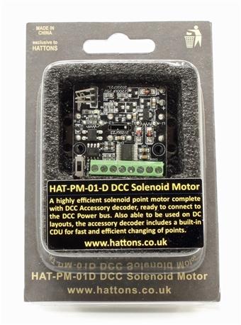HAT-PM-01D Digital Solenoid Point Motor