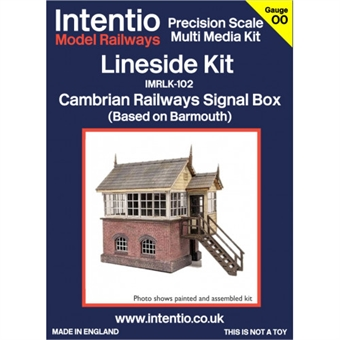 IMRLK-102RH Signal box - Cambrian Railway style - right hand - lasercut kit