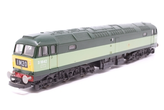 L205219b-PO11 Class 47 D1842 in BR Green - Pre-owned - paint chip on one side - Like new box