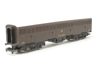L305351W-PO22 Bogie Parcel Van 'Siphon G' in GWR brown - 2792 - Pre-owned - worn paintwork - Replacement box