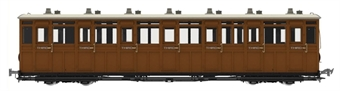 LHT-7NP-003 Lynton & Barnstaple third No.11 in L&B red and ivory - 1901 - 1922 condition