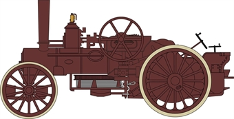 NFBB001 15145 Rusty Fowler BB1 Ploughing Engine