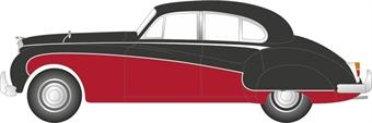 NJAG9004 Jaguar Mk8/9 Black/Imperial Maroon