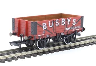 """OR76MW5002 5-plank open wagon """"Busbys, West Kensington"""""""