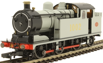 OR76N7001 Class N7 0-6-2T 1002 in Great Eastern Railway wartime grey