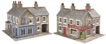PN117 Corner shop - stone - card kit