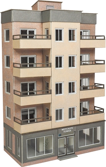 PN960 Modern tower block - card kit