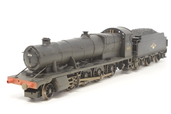 R2465-PO15 Class 28XX 2-8-0 2836 in BR Black (weathered) - Pre-owned - poor runner - heat damage to chimney and top of boiler - missing one front buffer - missing inner packaging - poor box