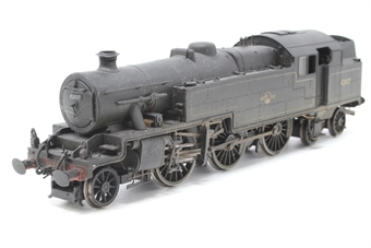 R2637X-PO01 Stanier Class 4P 2-6-4T 42437 in BR Lined Black with late crest (weathered) (DCC on board) - Pre-owned - loose body -  Good box