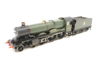 """R2822-PO17 Castle Class 4-6-0 """"Earl Cairns"""" 5053 in early BR Green - Pete Waterman Collection - Pre-owned - real coal added to tender - missing one set of cab steps - piece of loose detail in box - Fair box"""